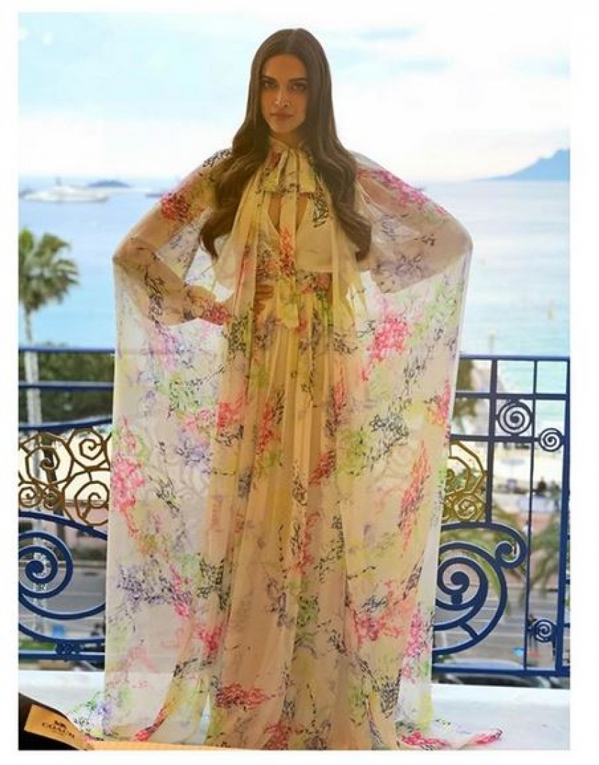 Deepika Padukone At Cannes 2018 Photos