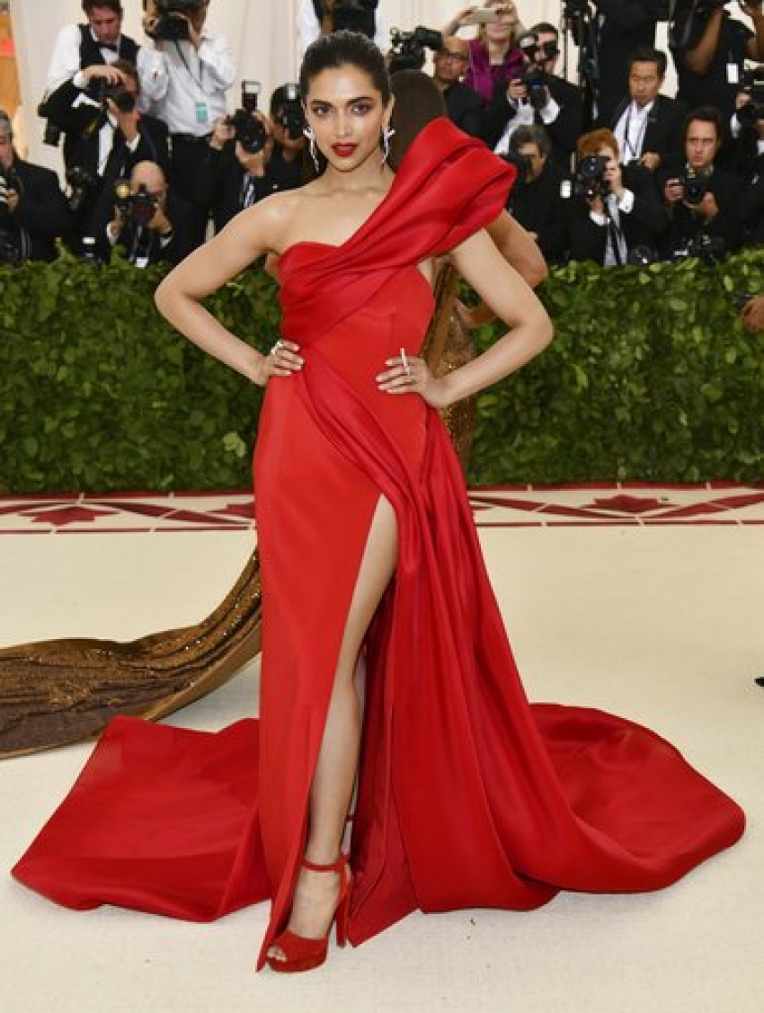 Deepika Padukone At Met Gala 2018 Photos