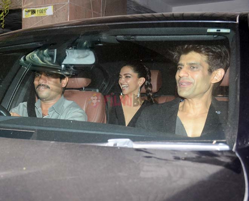 Deepika Padukone And Siddharth Malhotra Spotted At Friend's House Party Photos