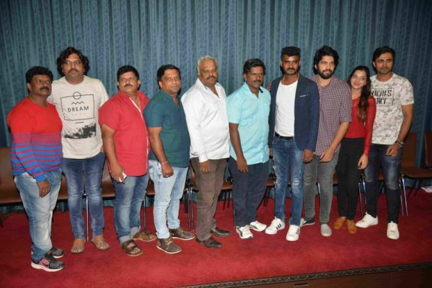 Double Engine Film Press meet Photos
