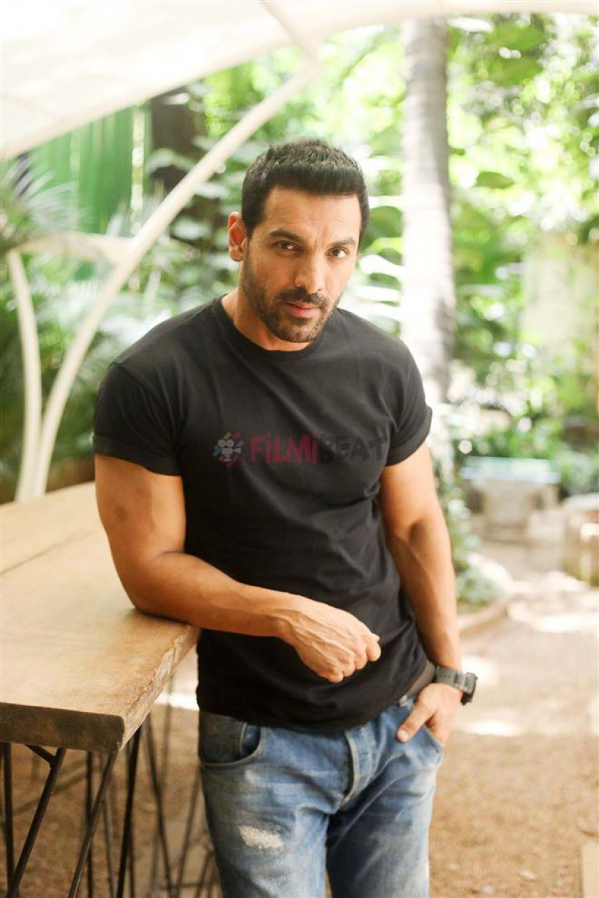 John Abraham Promotes Parmanu Movie Photos