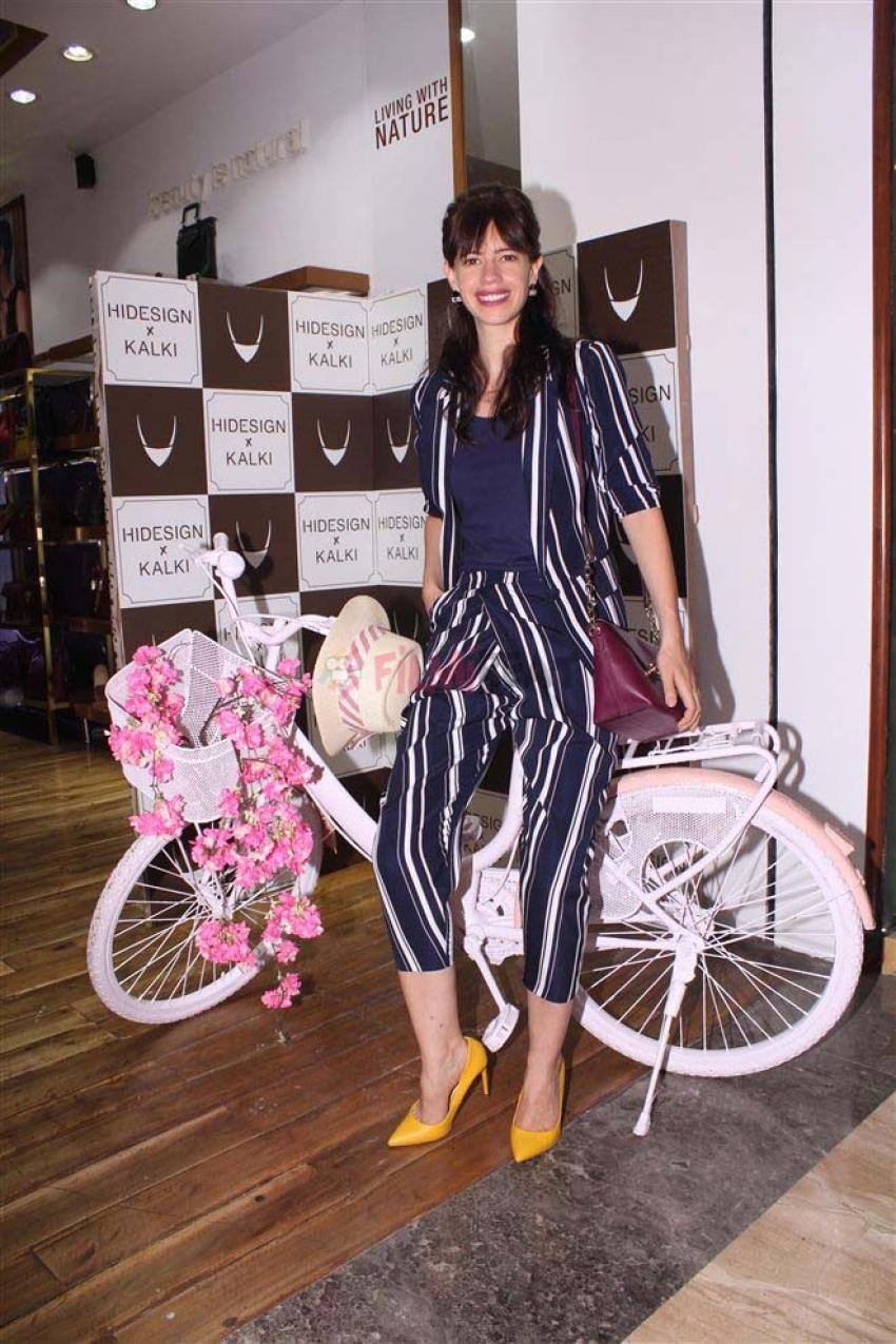 Kalki Koechlin Celebrates Hidesign X Kalki Photos