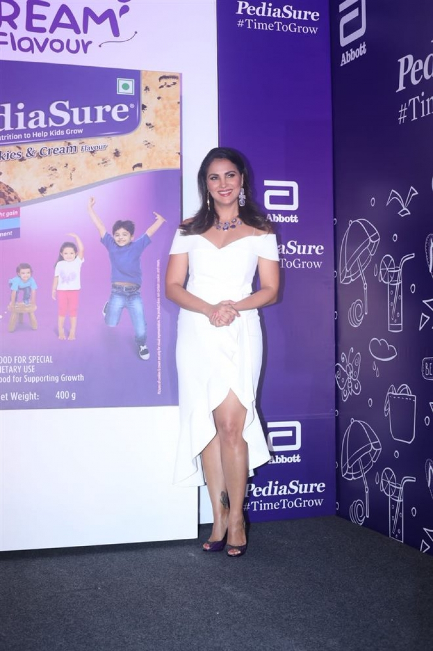 Lara Dutta And Mahesh Bhupati Launch Pediasure New Flavor Photos