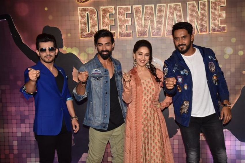 Madhuri Dixit At The Launch Of Colors Dance Deewane Photos