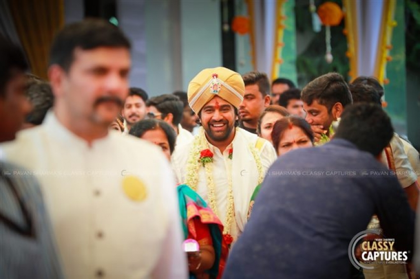 Meghana Raj & Chiru Sarja Marriage Photos