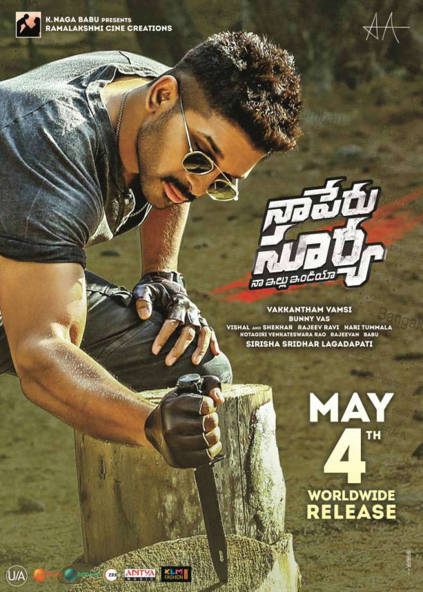 Naa Peru Surya Photos