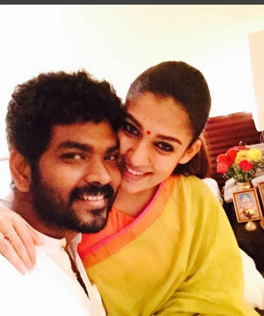 Nayantara And Vignesh Romantic Photos