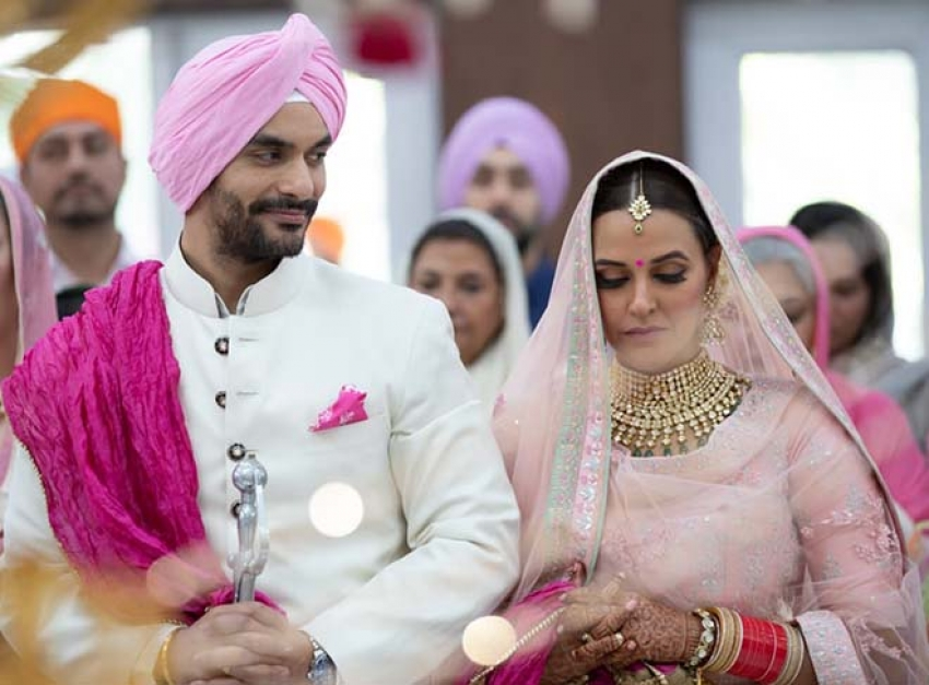 Neha Dhupia & Angad Bedi Marriage Photos
