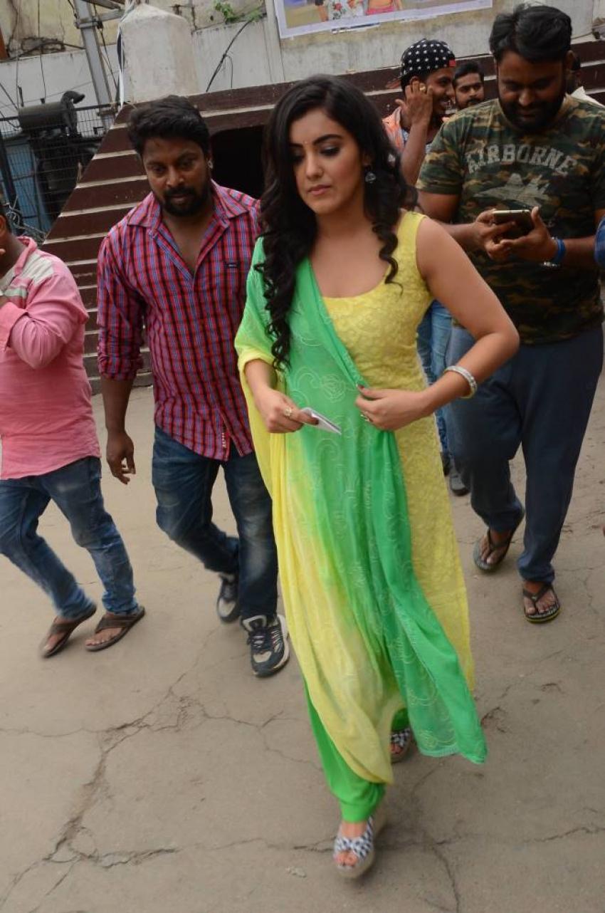 Nela Ticket Movie Team Sold Tickets at Sandhya Theater Hyderabad Photos