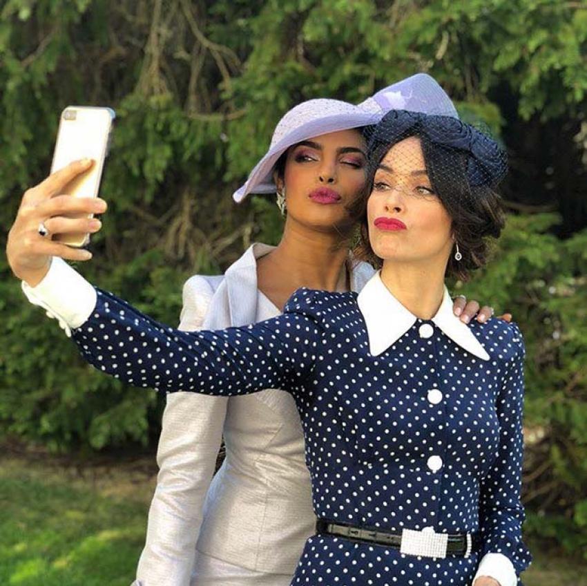 Priyanka Chopra Attends Meghan Markle And Prince Harry's Wedding Photos