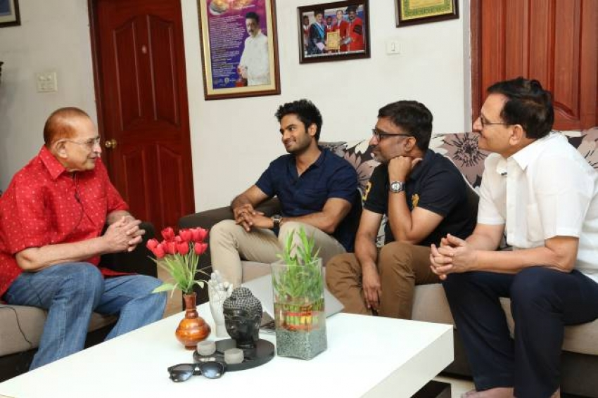 Sammohanam Trailer Launch Photos