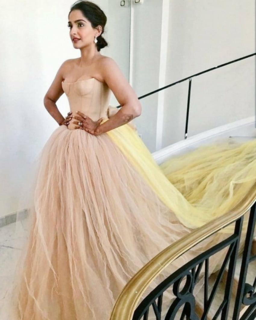Sonam Kapoor At Cannes 2018 Photos
