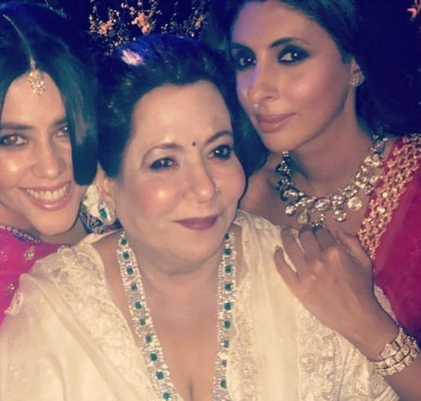 Sonam Kapoor & Anand Ahuja Wedding Reception Photos