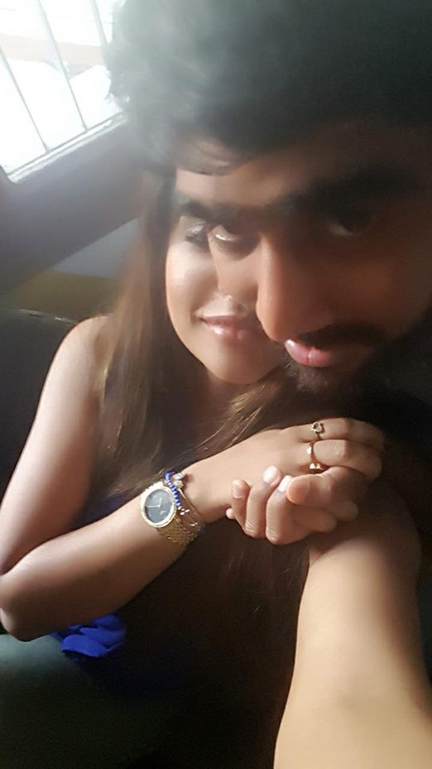 Sri Reddy Romantic Photos With Abhiram Again Photos