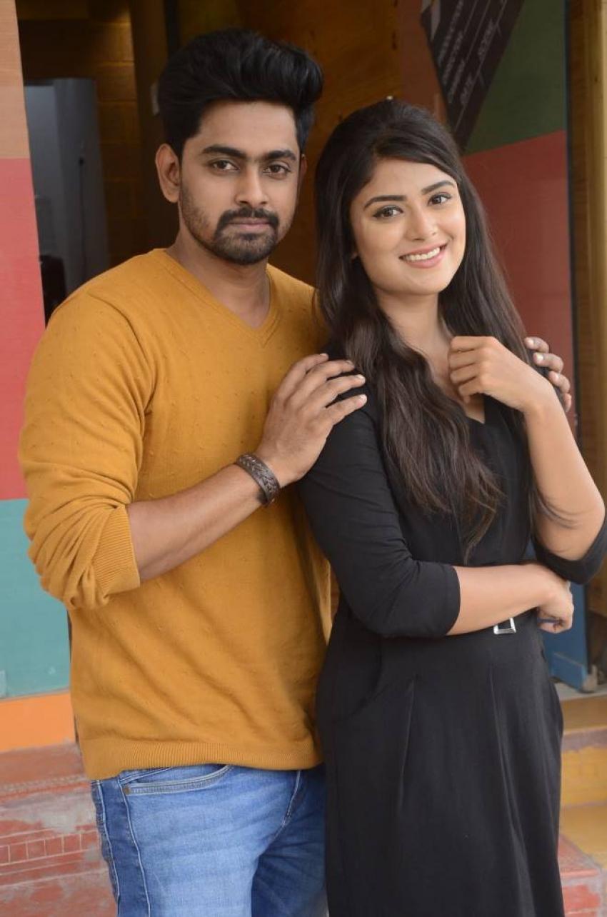 Tharuvatha Evaru Movie Press Meet Photos