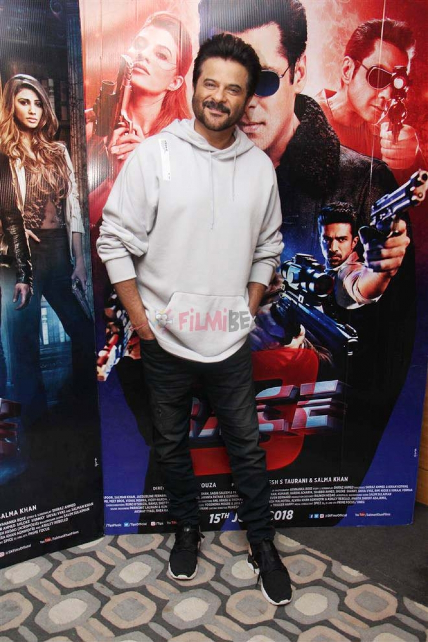 Anil kapoor And Remo Dsouza Promote Race 3 Photos
