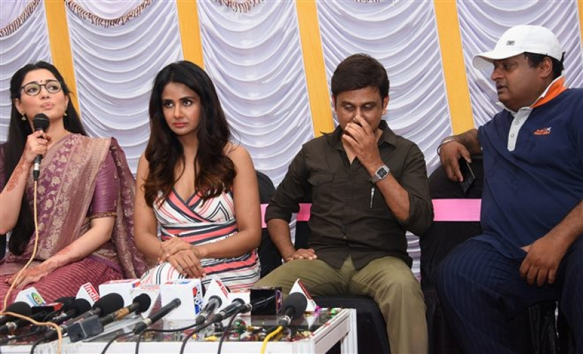 Butterfly Movie Press Meet Photos