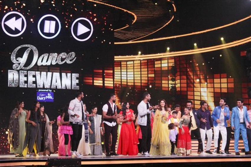 Cast Of Nawabzade At Dance Deewane Photos