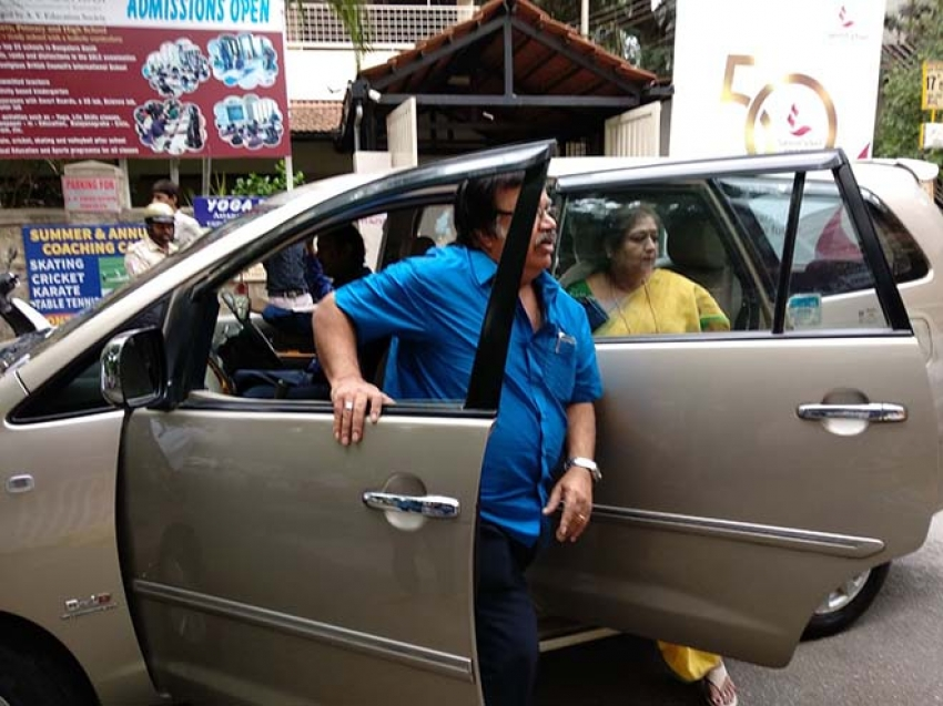 Celebrities Who Voted For Jayanagar Election 2018 Photos