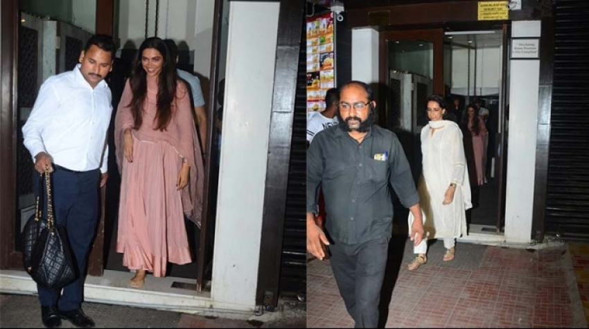 Deepika Padukone Goes Jewelry Shopping With Mom Photos