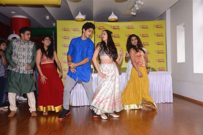 Dhadak Movie Zingaat Song Launch Photos