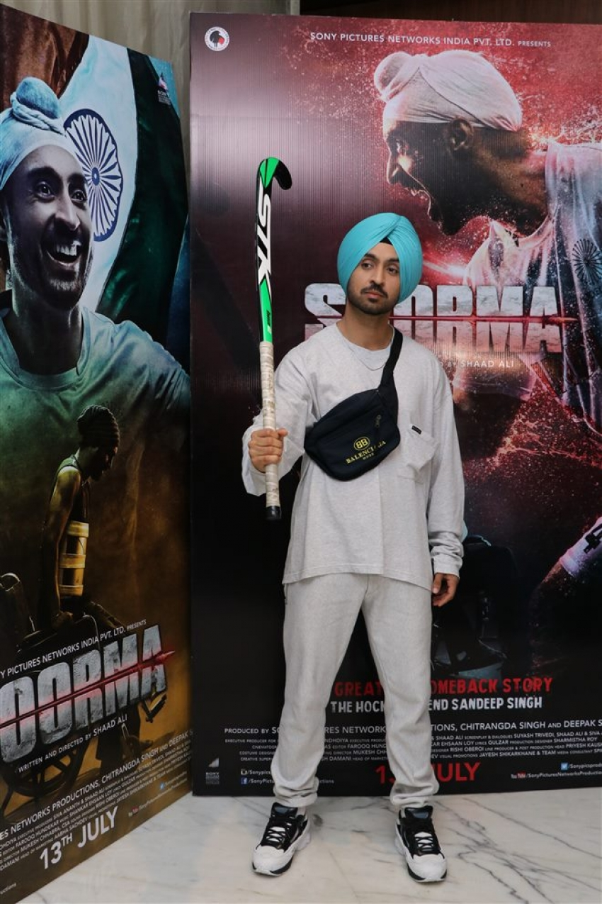 Diljit Dosanjh Promote His Movie Soorma Photos