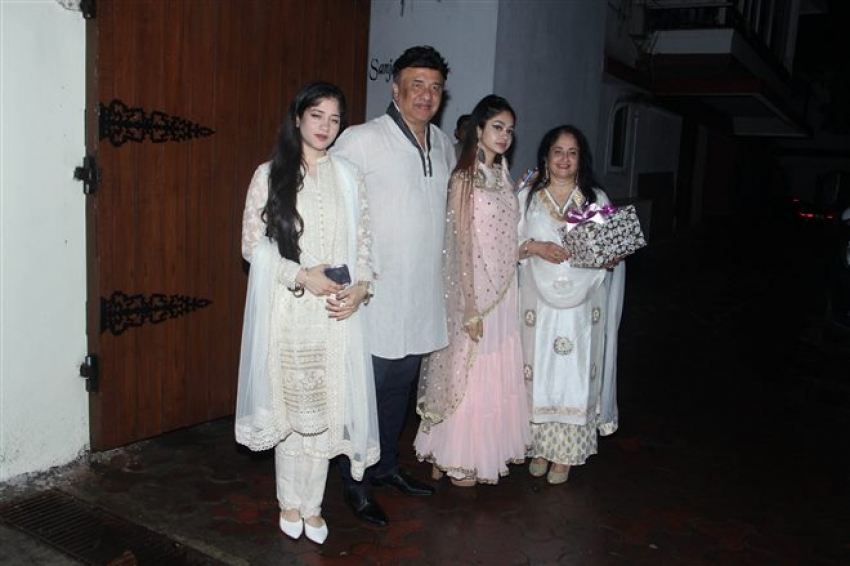 Eid Celebration At Sanjay Khan House 2018 Photos