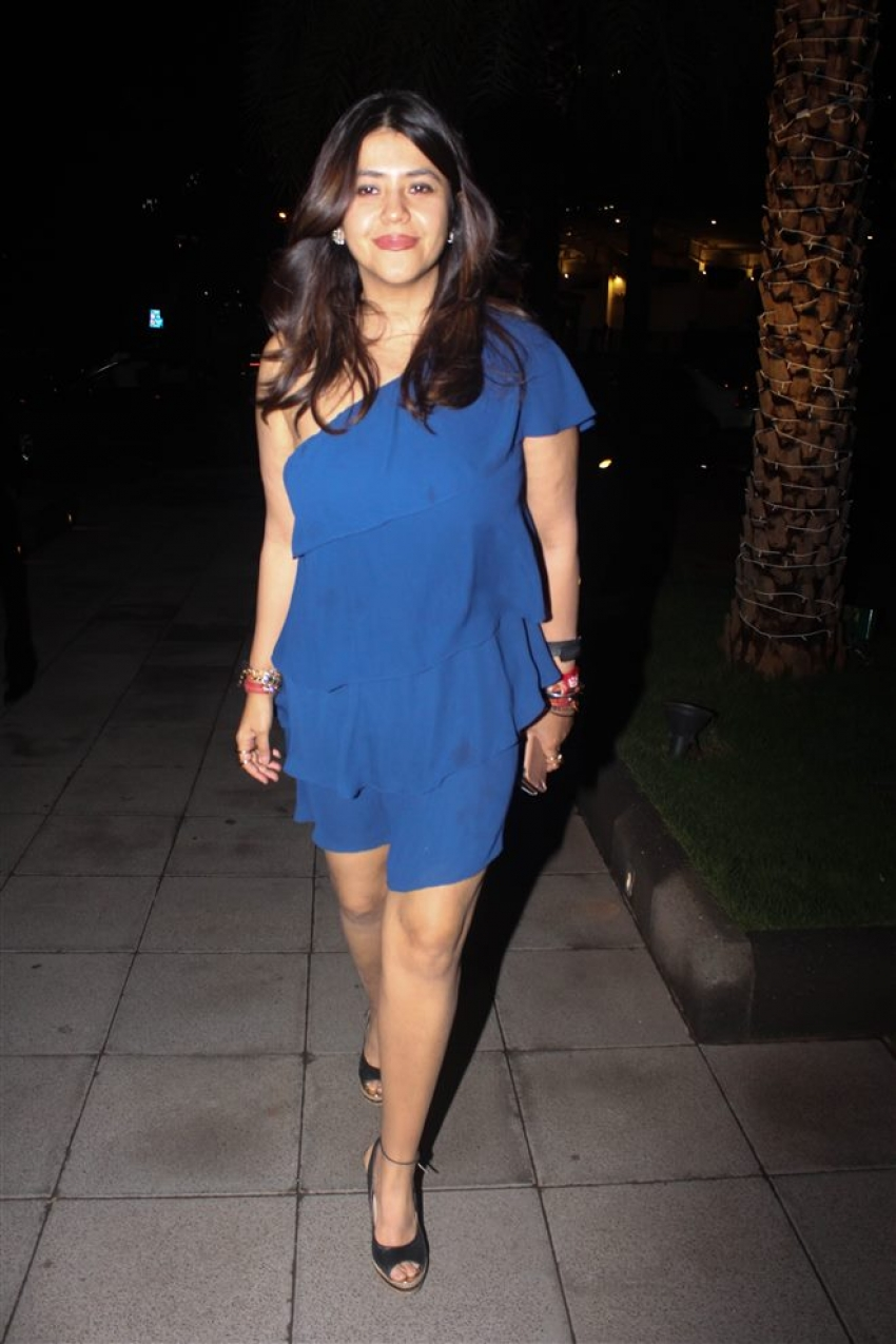 Ekta Kapoor Birthday Celebrate With Family At Yauatcha BKC Bandra Photos