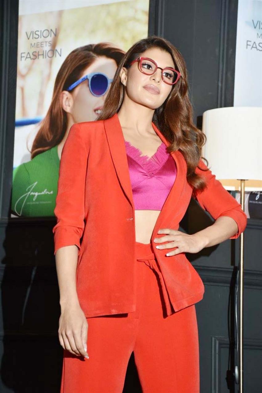 Jacqueline Fernandez Brand Ambassador For New Eye Wear Brand Nova Photos