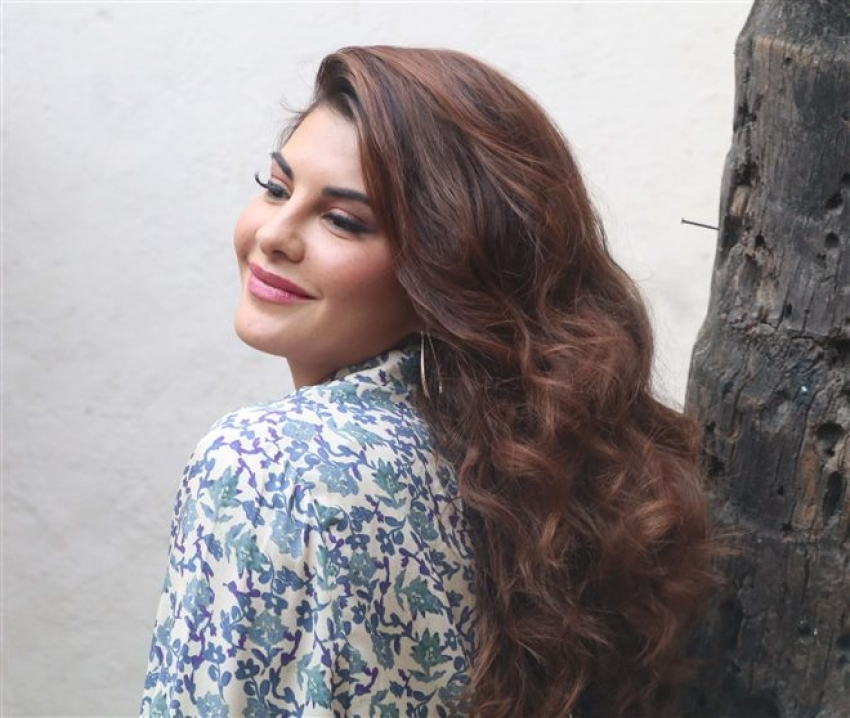 Jacqueline Fernandez And Freddy Promoting Upcoming Movie Race 3 Photos