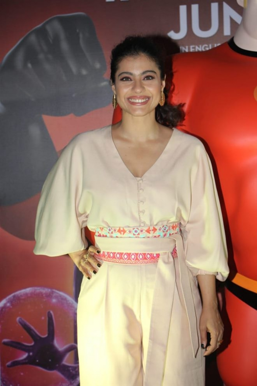 Kajol At Fun Launch Event Of Incredibles 2 Photos