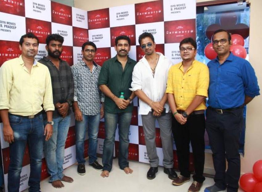 Kolaigaran Movie Pooja Photos