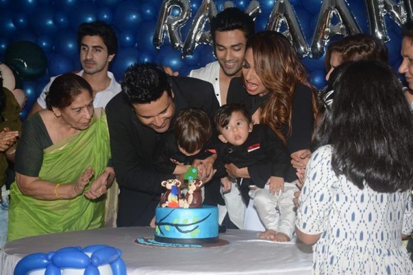 Krishna and Kashmira Shah Babies Birthday Bash 2018 Photos