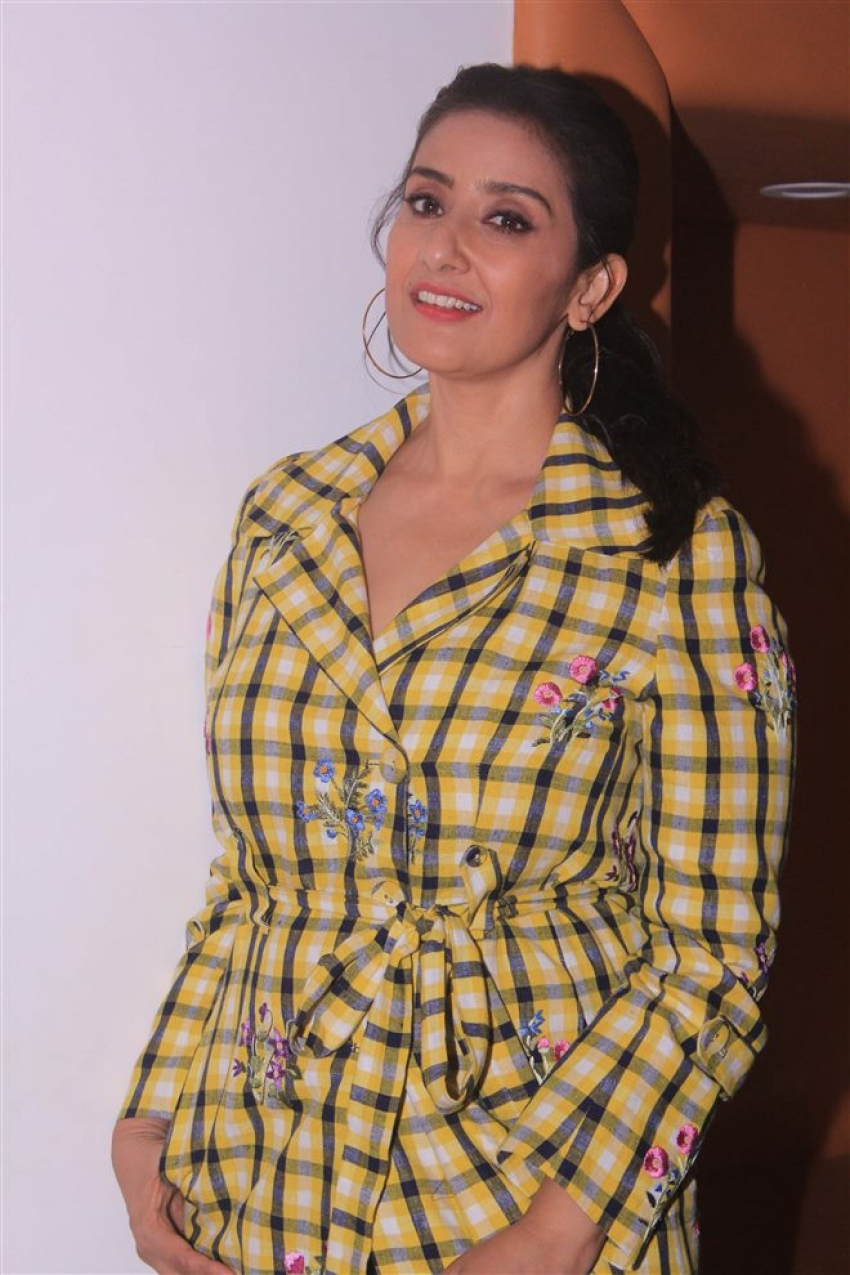 Manisha Koirala Promotes Sanju Movie In Mumbai Photos