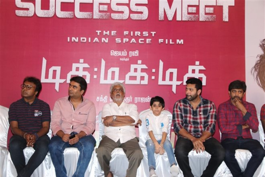 Mastrer Aarav Birthday Celebration and Tik Tik Tik Movie Success Meet Photos