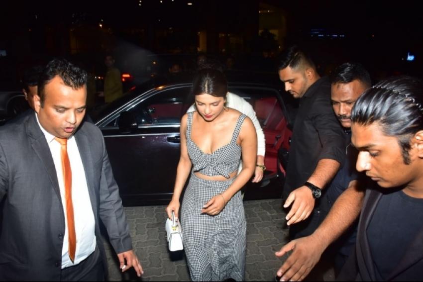 Nick And Priyanka Chopra Out For Dinner At Yautcha Photos
