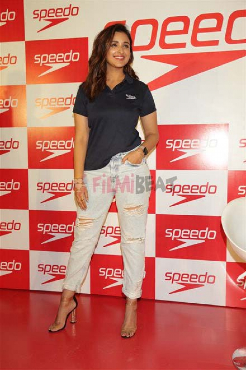 Parineeti Chopra At Speedo Event In Delhi Photos