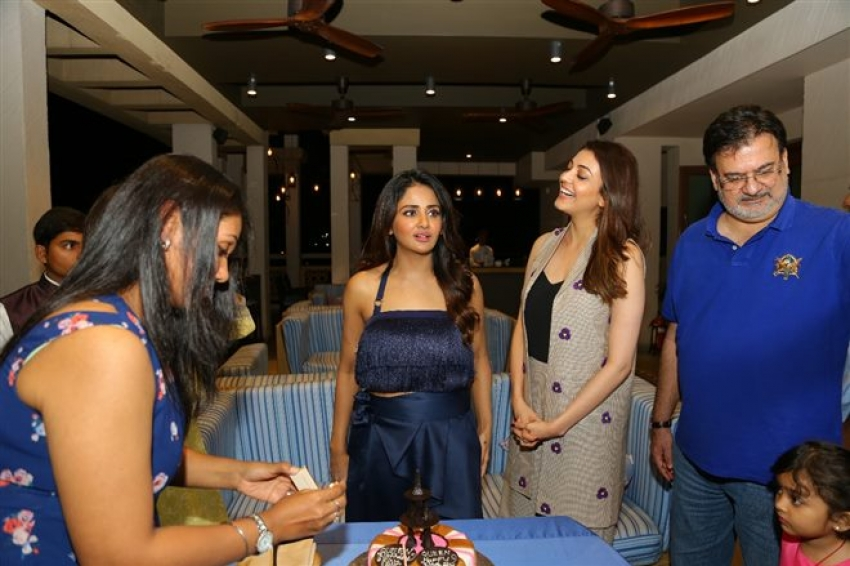 Parul Yadav Birthday Celebrations on Queen Sets with Kajal and Tamannaah Photos