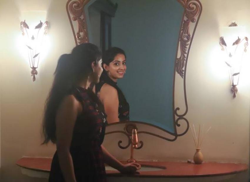 Professor Movie Heroine Seba Koshy Birthday Celebration Photos
