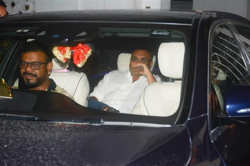 Rani Mukherjee And Aditya Chopra Spotted At Karan Johar's Apartment Bandra Photos
