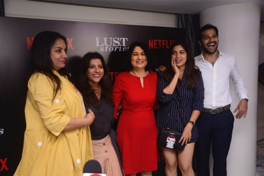 Red Carpet Of Lust Stories At Le Reve Cinemas Photos