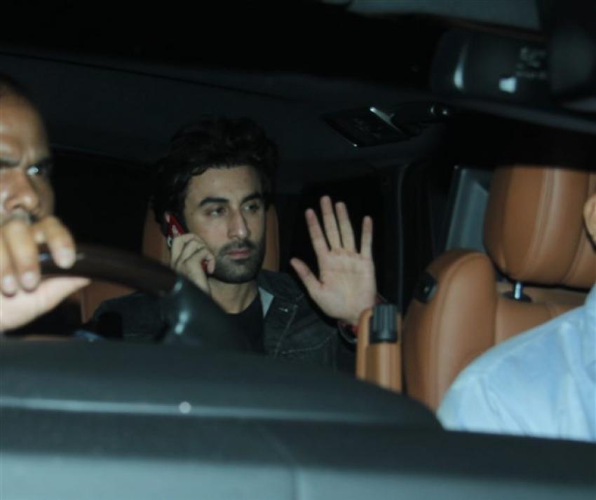 Sanju Movie Special Screening In Mumbai Photos