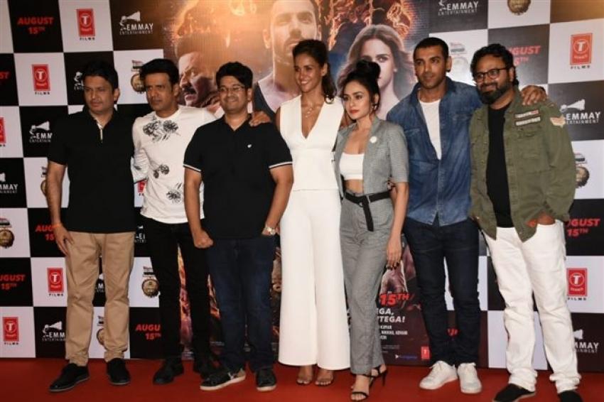 Satyameva Jayate Movie Trailer launch Photos