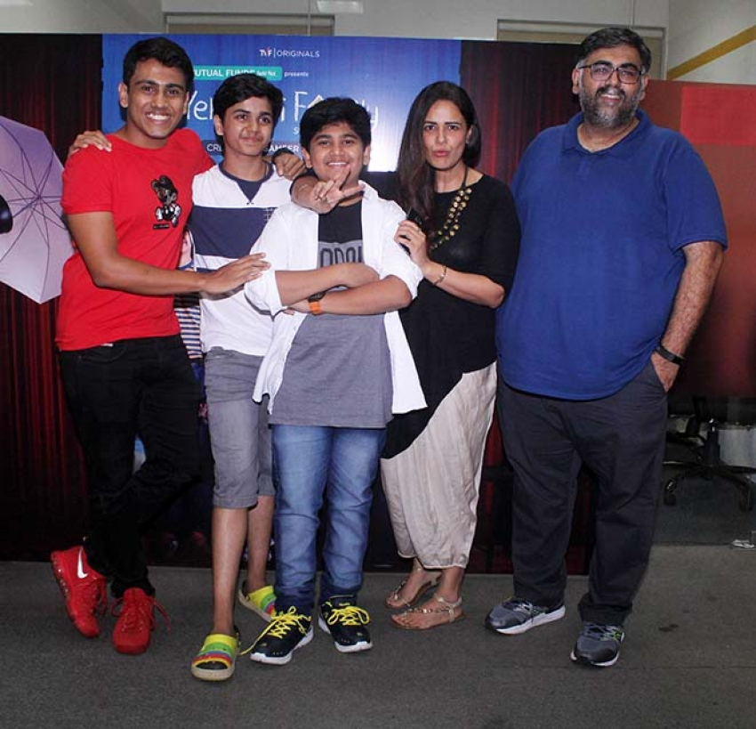 Short Film Promotion Yeh Meri Family Photos
