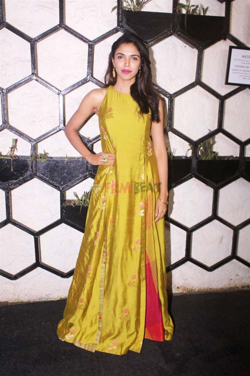 Shweta Tripathi And Chaitanya Sharma Celebrate Their Pre Wedding Bash Photos