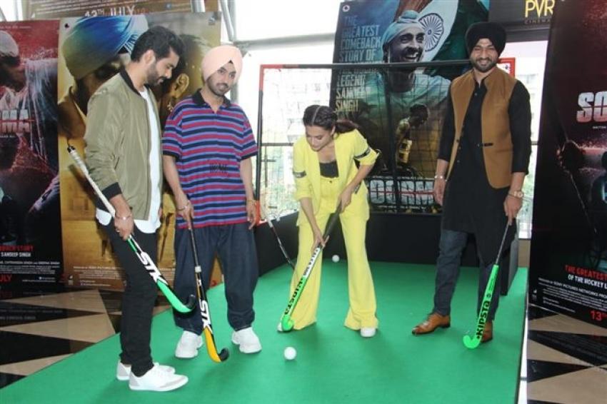 Soorma Trailer Launch Photos