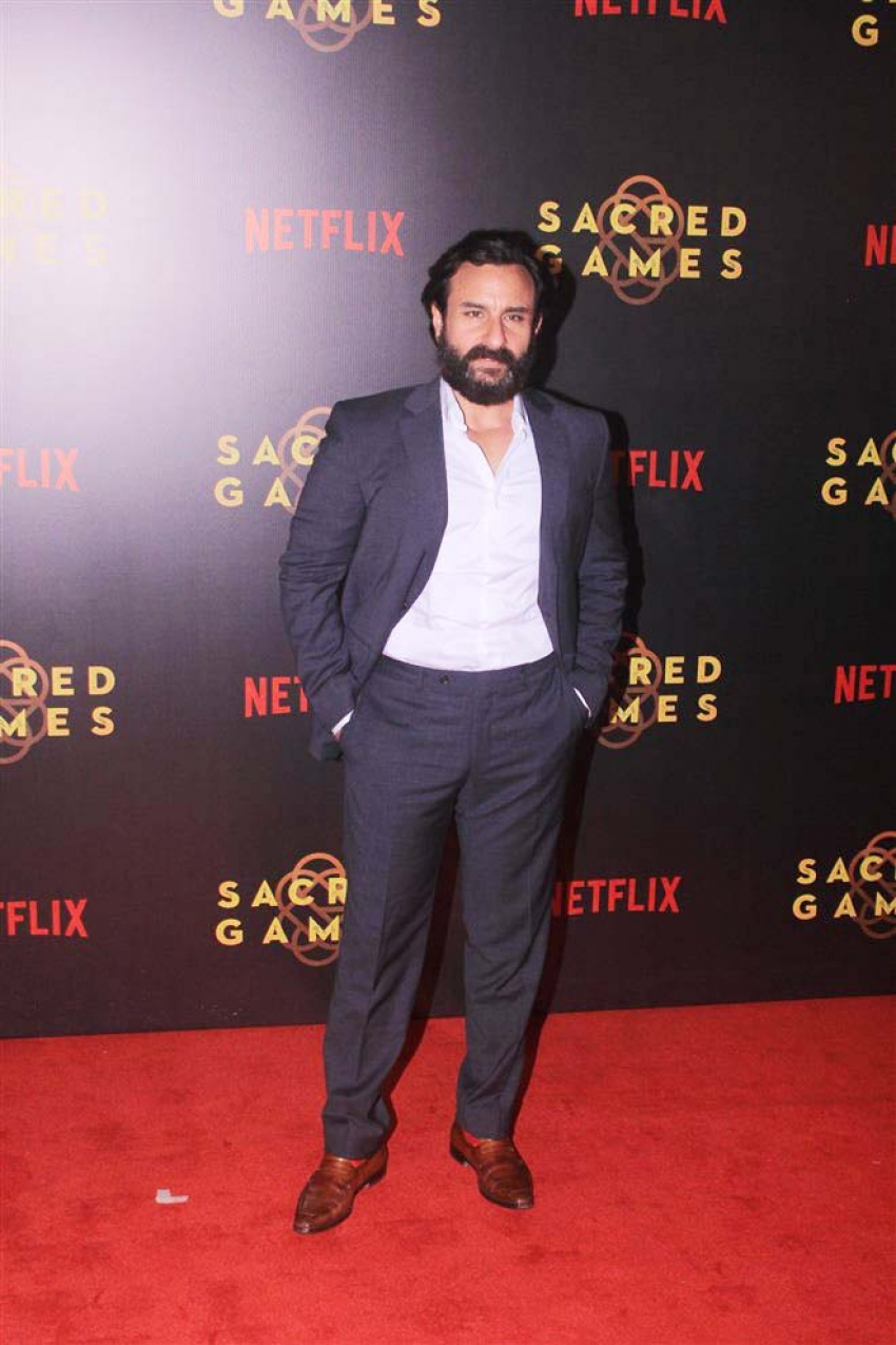 Special Screening Of Web Series Sacred Games Photos