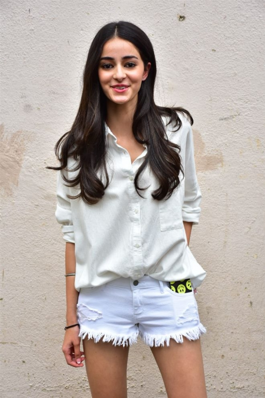 Ananya Pandey Spotted After Shoot In Meheboob Studio Photos