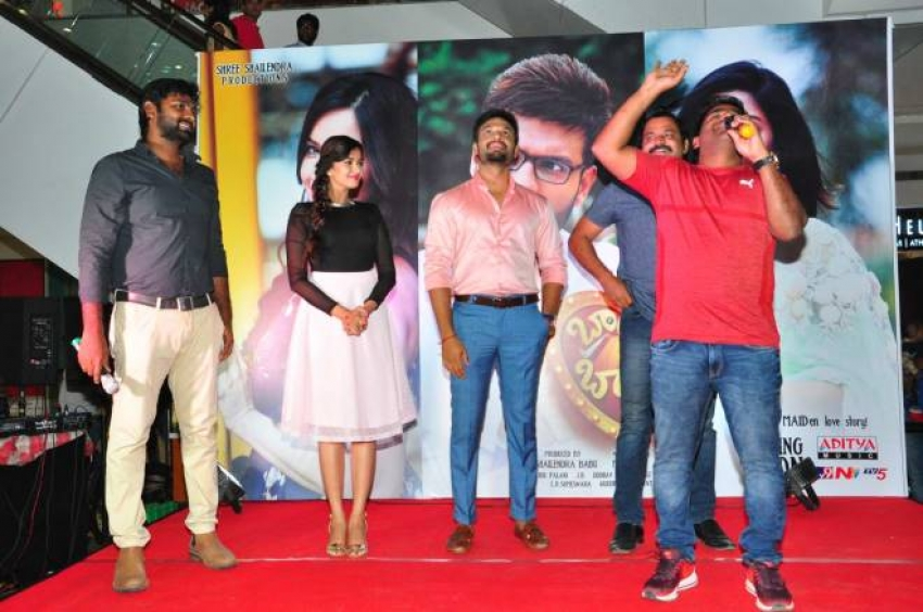 Brand Babu Movie Team At PVP Square To Promote The Film Photos