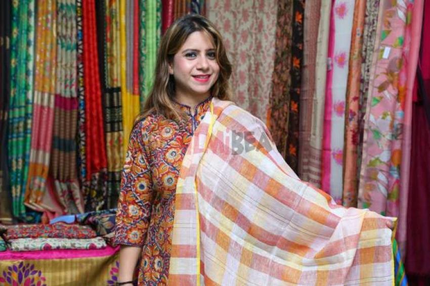 Celebs At Silk And Cotton Expo Exhibition Photos